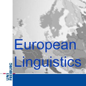 M.A. European Linguistics/Europäische Sprachwissenschaft